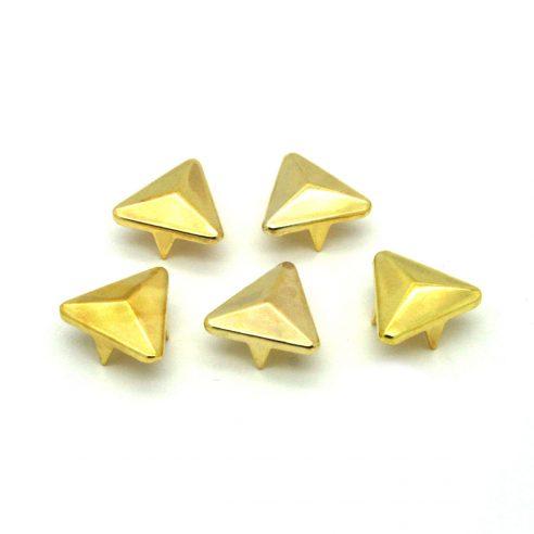 Gull Trekant Metall Nagler 5 stk
