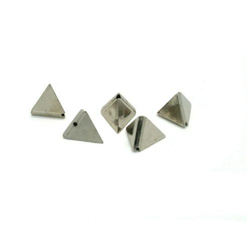 Sølv Pyramide Plastikk Nagler 5 stk