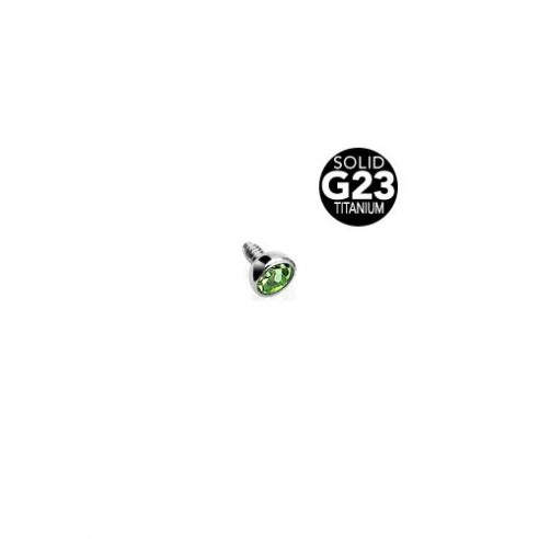 Dermal Topp - Grønn Stein
